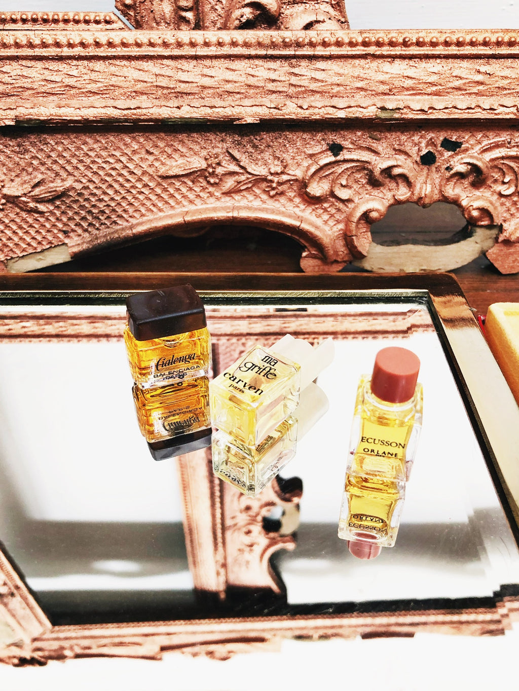 Vintage Miniature Perfume Bottle Set