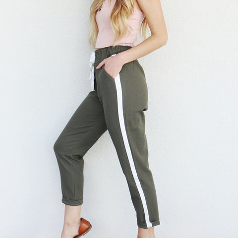 Nina Pants in Camel