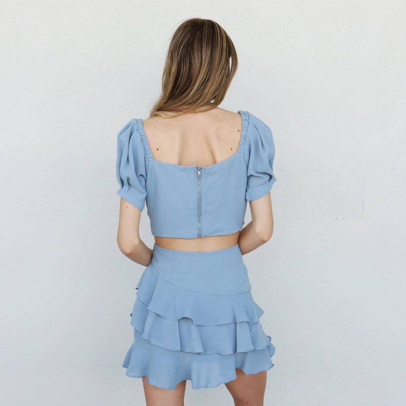 Sonora Top in Blue