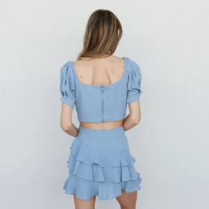 Sonora Skirt in Blue