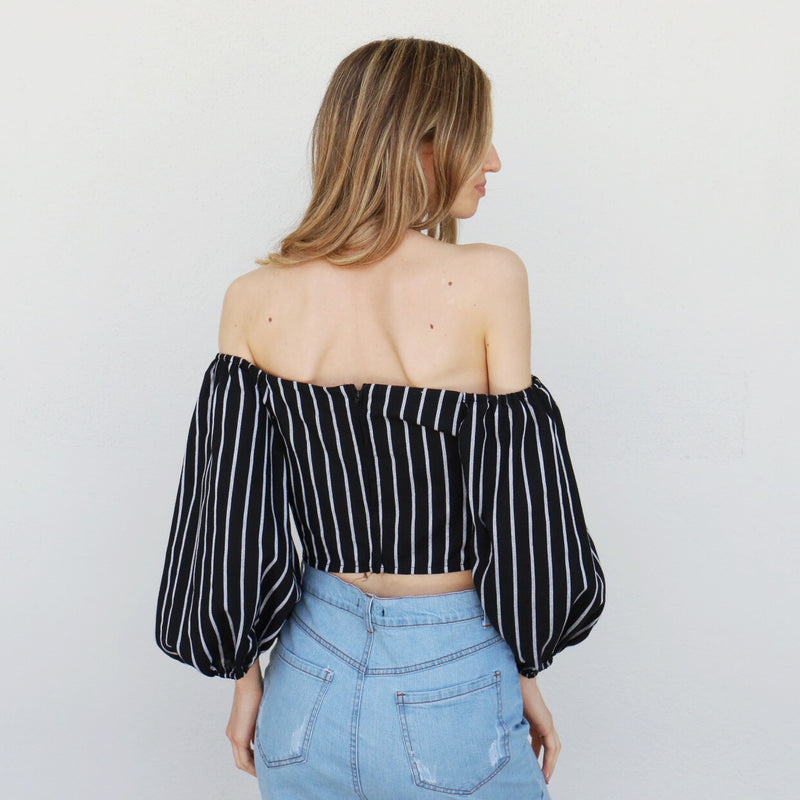 Alina Top in Black