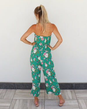 Hana Jumpsuit in Green
