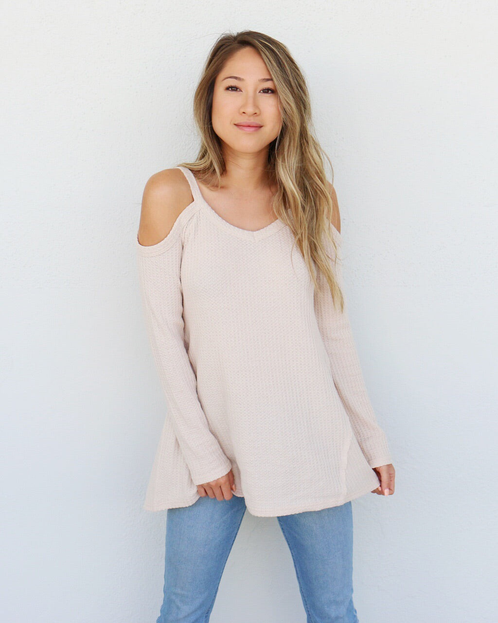Camryn Top in Sand