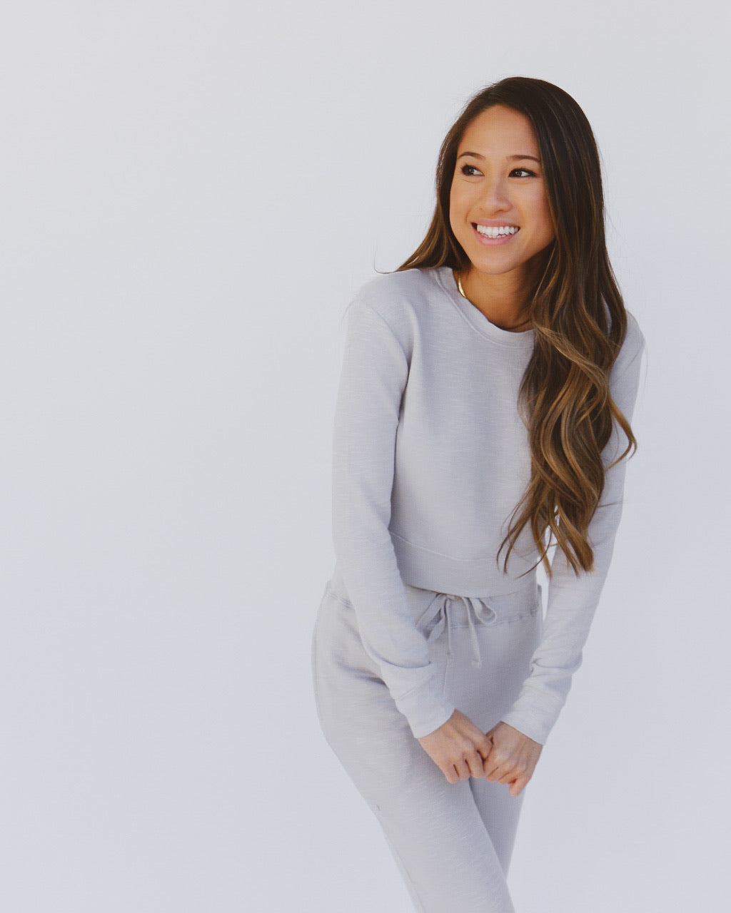 Parker Top in Gray