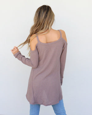 Camryn Top in Taupe