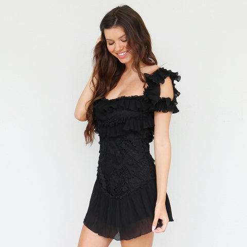 Whitney Dress in Black