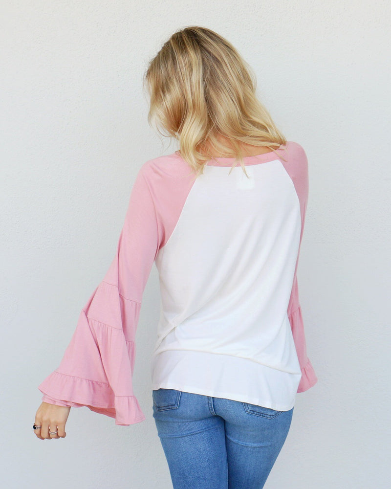 Taylor Top in Pink