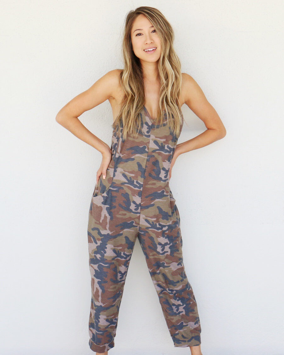 Camo Dreams Jumpsuit