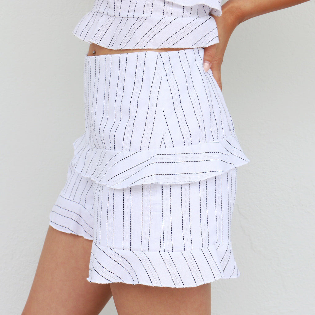 Lila Shorts in White