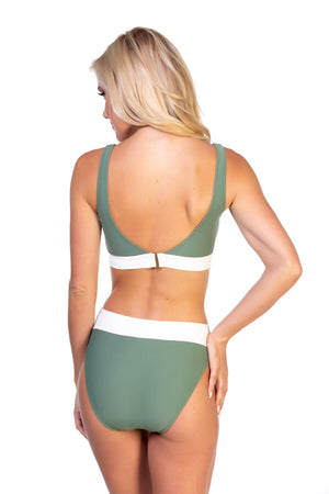 Pipeline Bikini Bottom in Olive