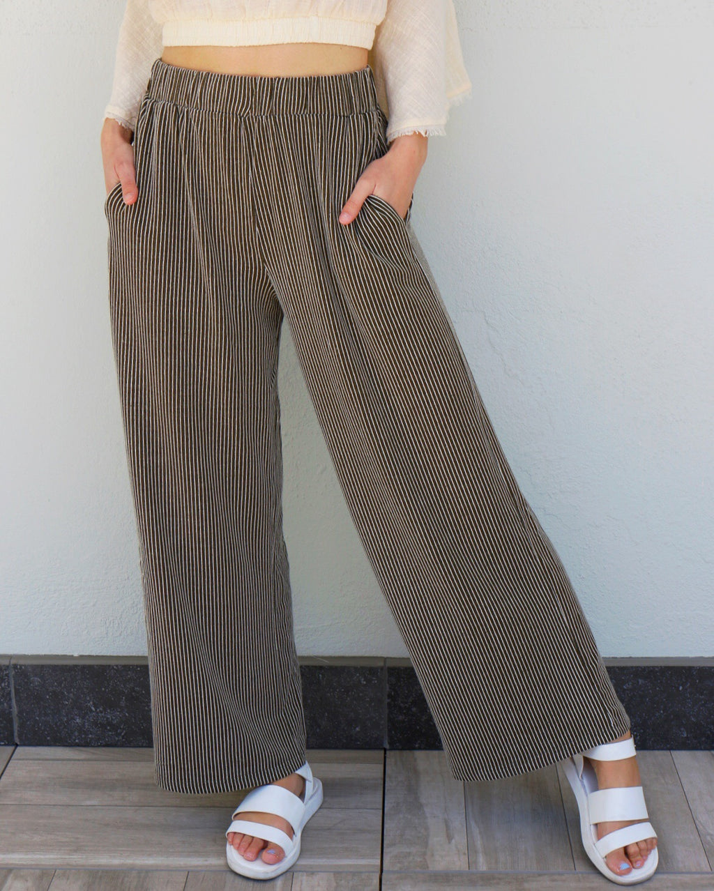 Tate Pants in Olive