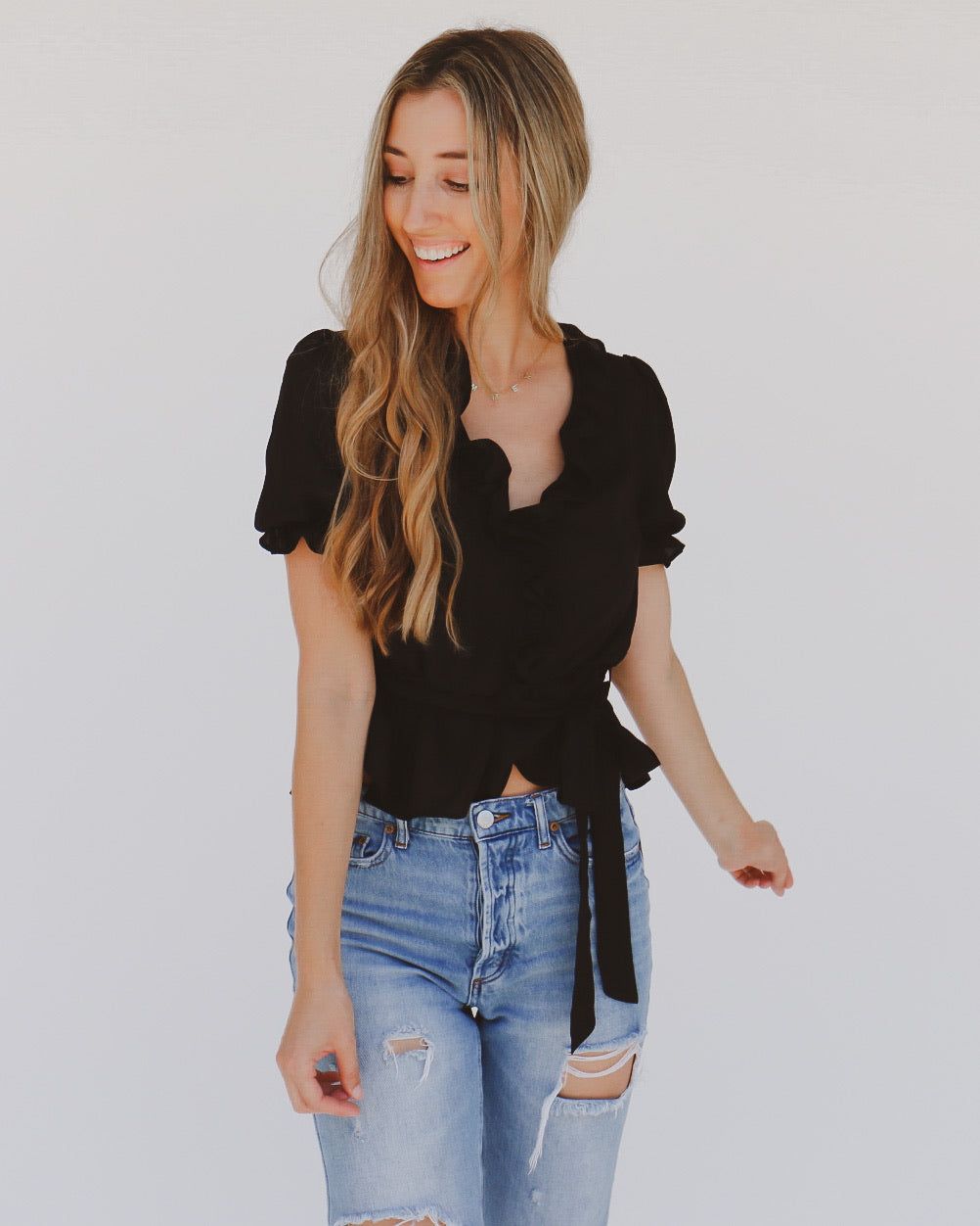 Texie Top in Black