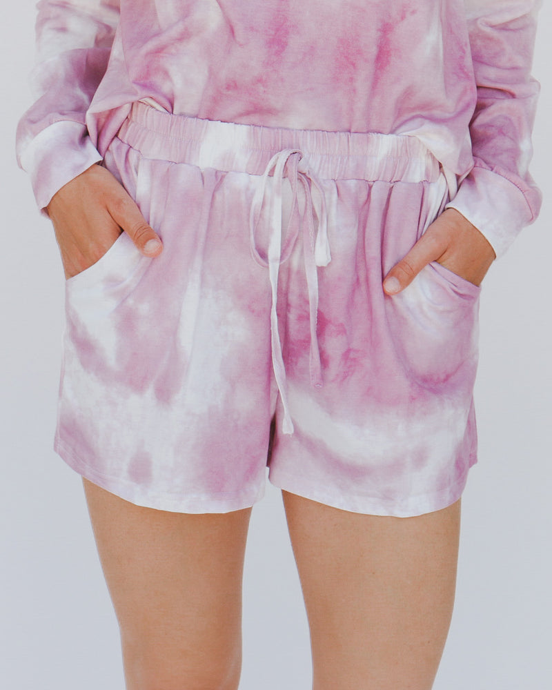 Mikayla Shorts in Rose
