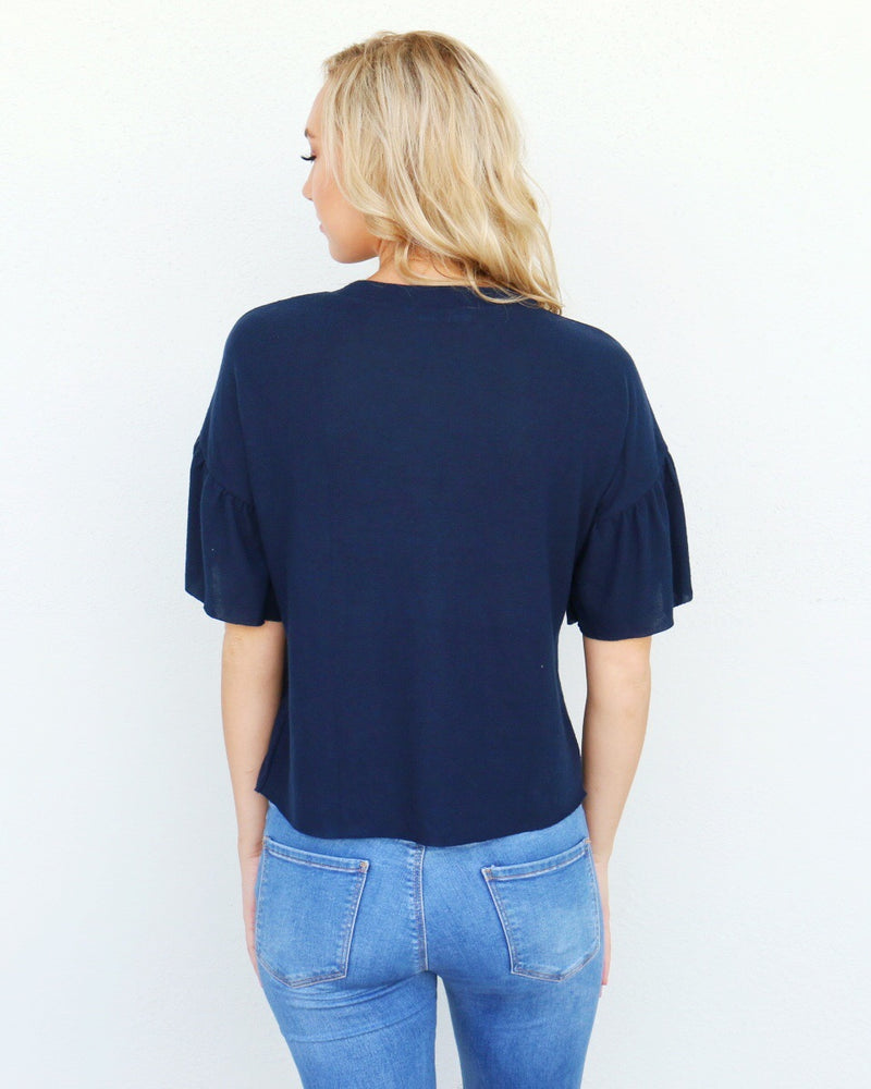 Fairway Top in Navy