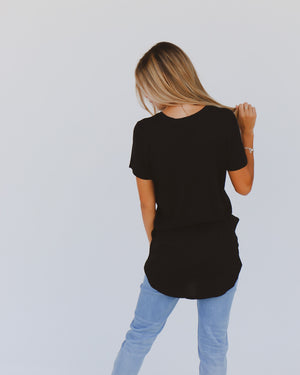 Play It Cool Tee in Black