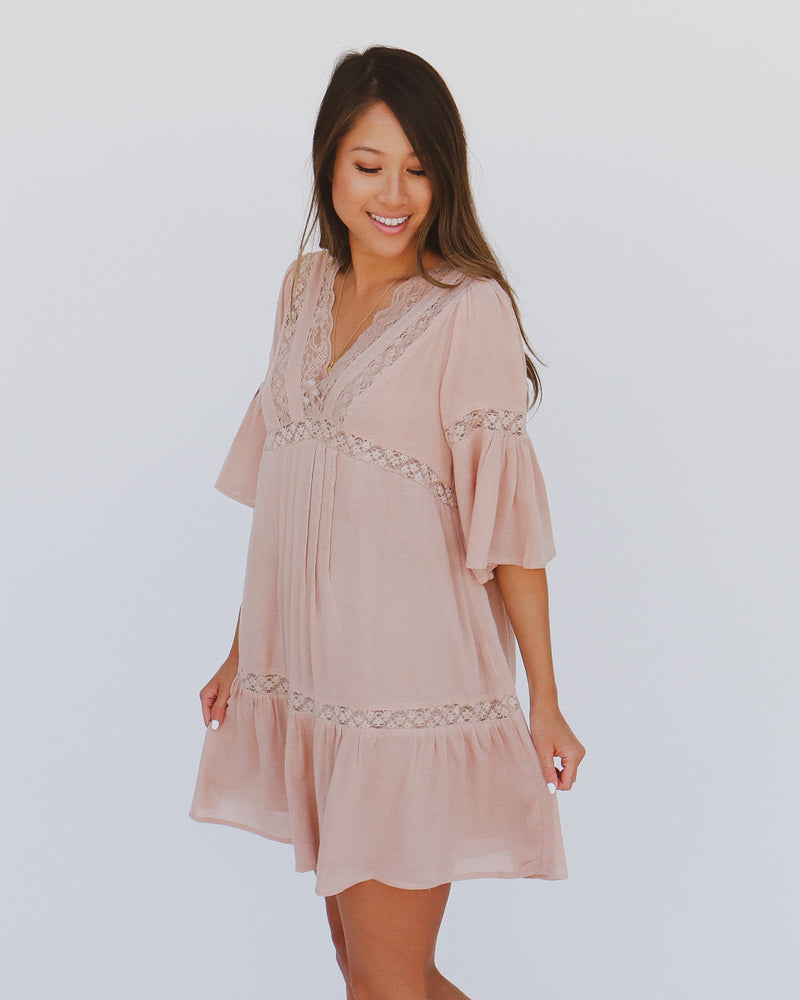 Skye Dress in Mocha