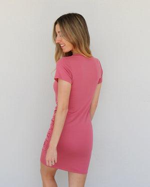 Nelly Dress in Rose