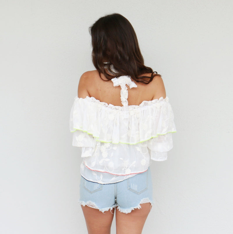 Laceful Top