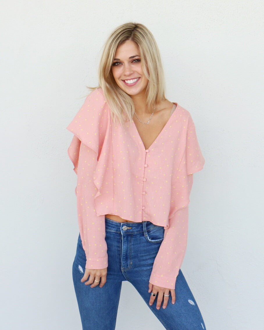 Natasha Top in Pink