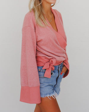 Marcie Sweater in Pink