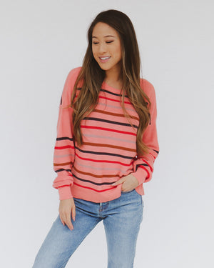 Mara Sweater in Pink