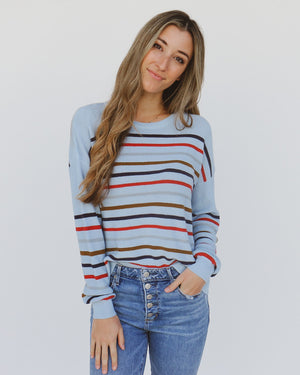 Mara Sweater in Blue