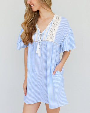 Parker Dress in Blue