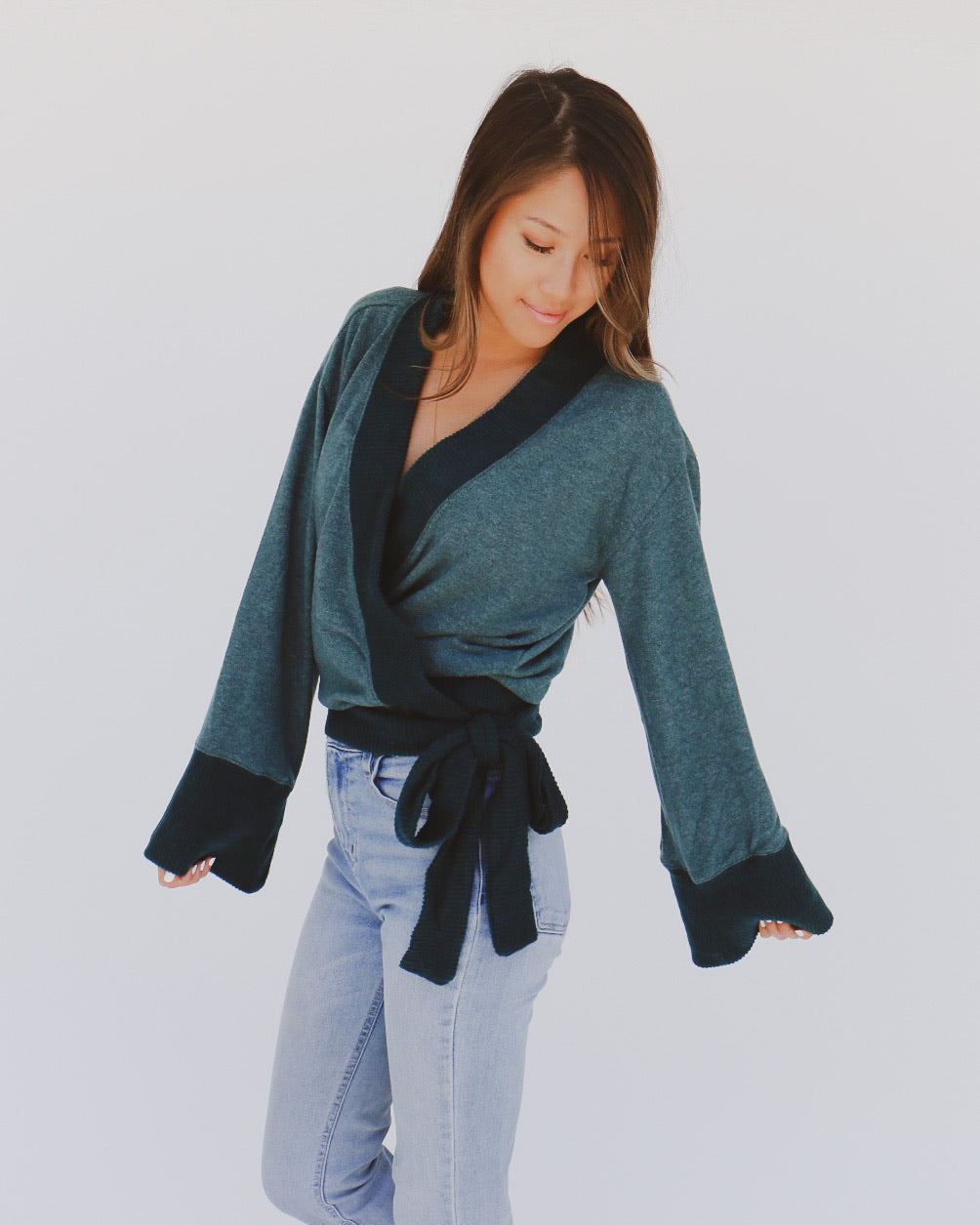 Marcie Sweater in Green