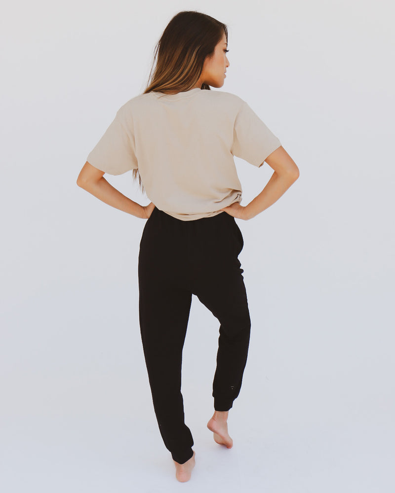Zealand Joggers in Black