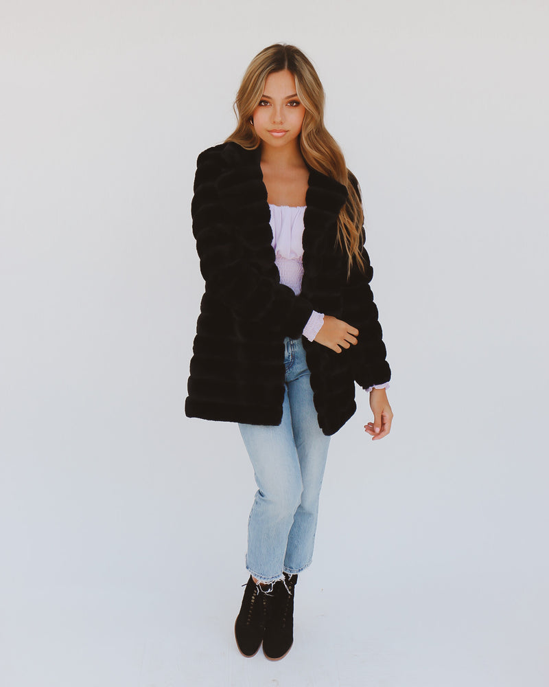 Lively Coat in Black