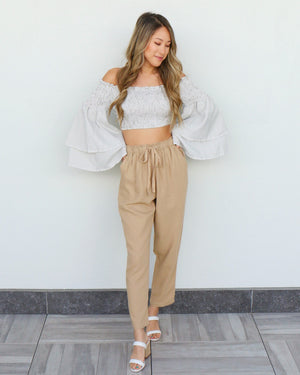 Hopland Pants in Khaki