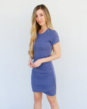 Nelly Dress in Periwinkle