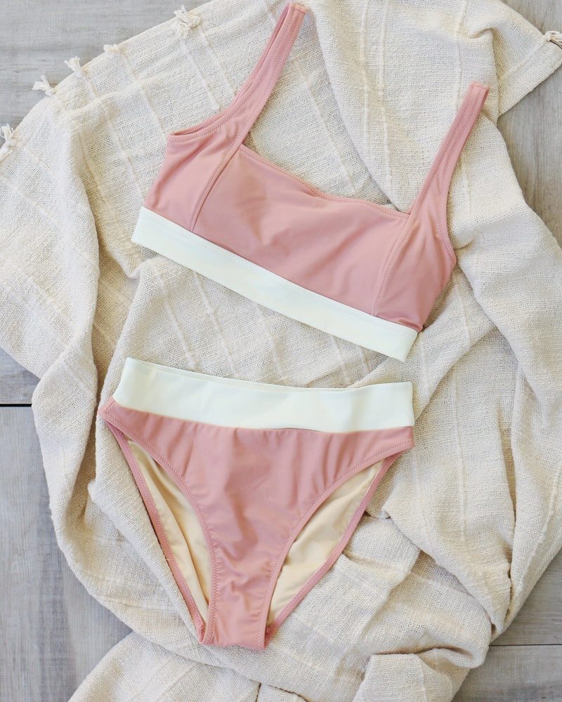 Pipeline Bikini Bottom in Pink