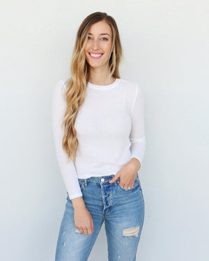 Tibby Top in White
