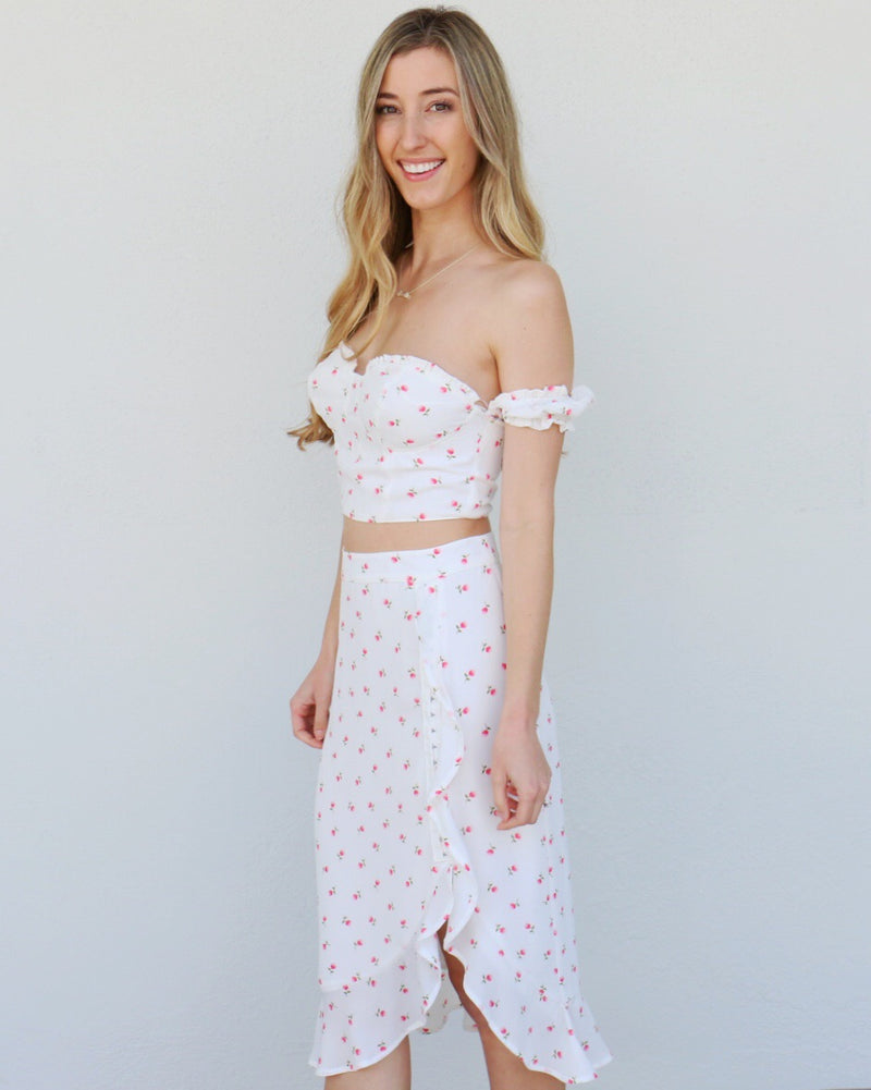 Endless Summer Skirt in White