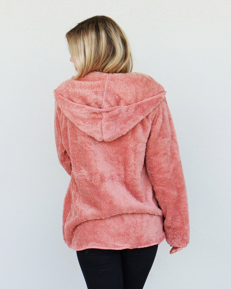 Cozy Up Cardigan in Pink
