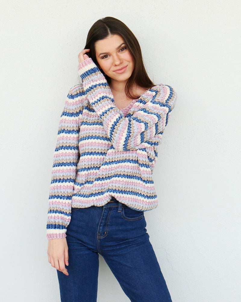 Brighter Days Sweater in Navy