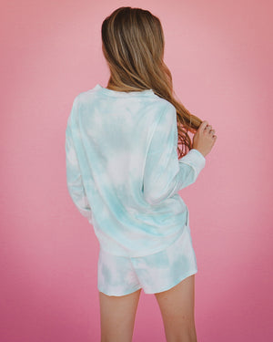 Mikayla Shorts in Seafoam
