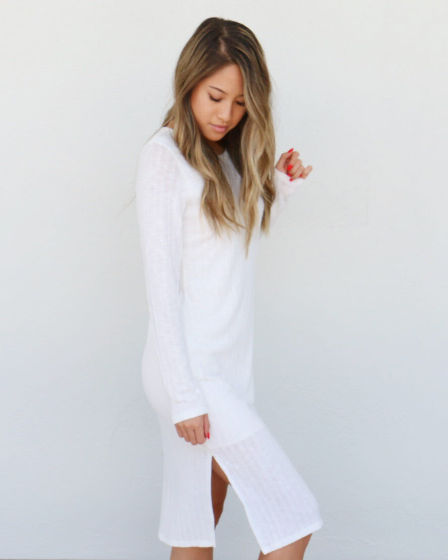 White Shore Dress