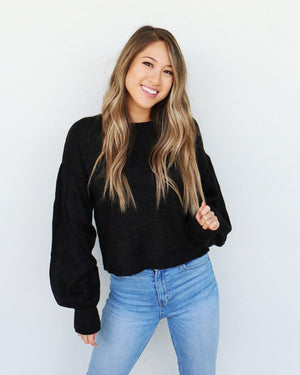 Juneau Sweater in Black