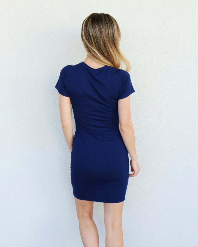 Nelly Dress in Navy
