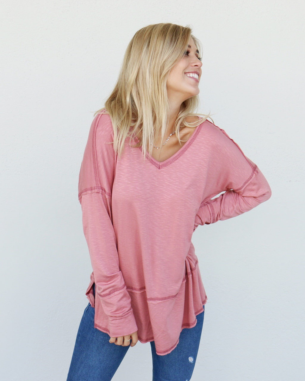 Eureka Top in Pink