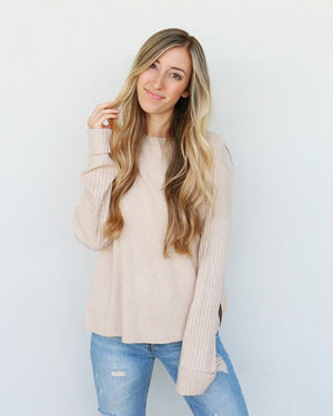 Tilden Sweater in Oatmeal