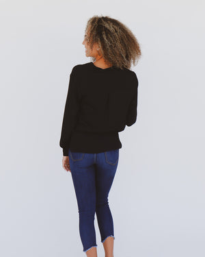 Londyn Top in Black