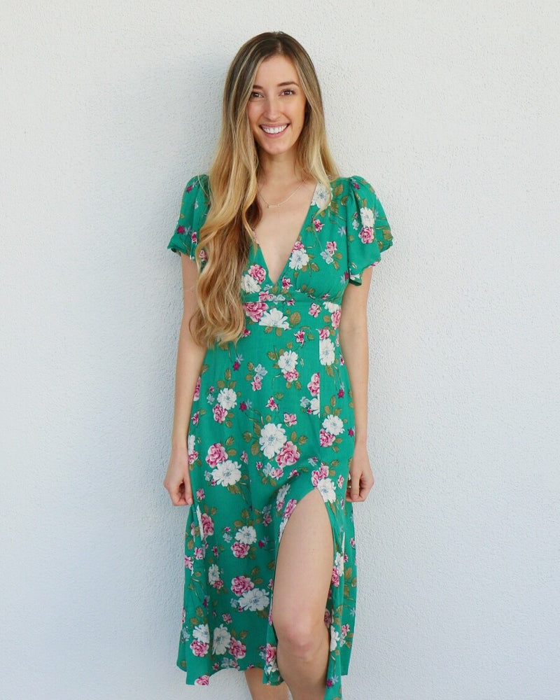 Hana Dress in Green