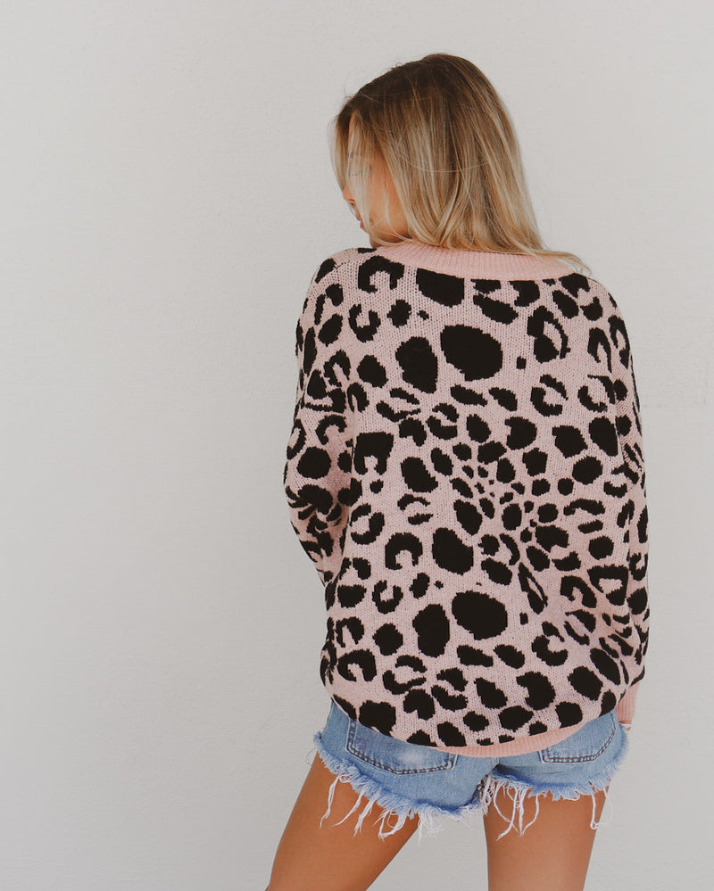 Milly Sweater in Pink