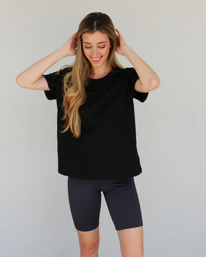 Kit Biker Shorts in Charcoal
