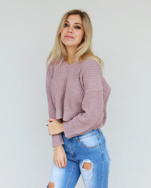 Austyn Sweater in Mauve