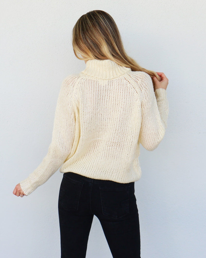 Mandy Sweater in Ivory