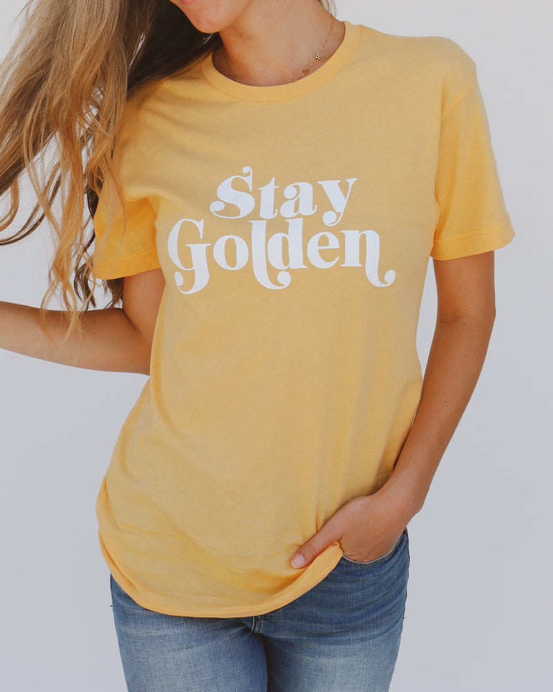 Stay Golden Tee